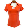 Catwalk Tanya Short Sleeve Golf Top - Orange