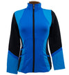 Catwalk Pocket Zippy Jacket - Blue/Black