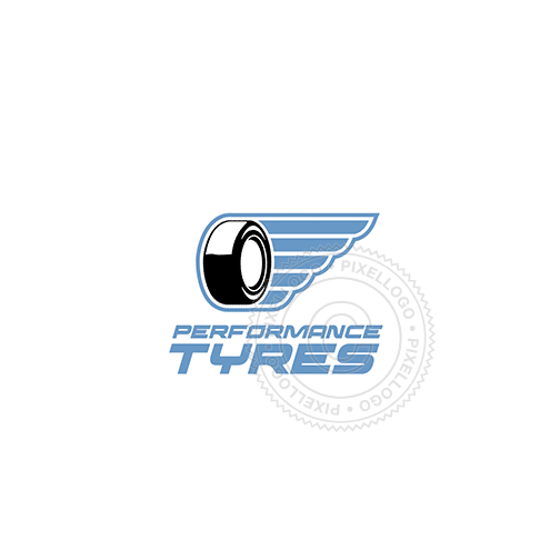 Tire Shop-Logo Template-Pixellogo