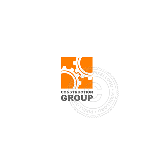 Construction Group-Logo Template-Pixellogo