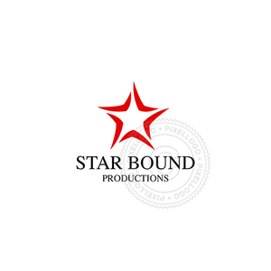 Red Star Productions-Logo Template-Pixellogo