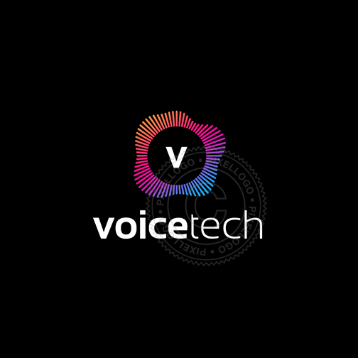 Voice Technology Logo - voice and sound technician | Pixellogo
