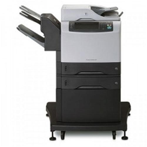 HP 4345mfp 4345 Monochrome Copier Printer Scanner with Stapler Finisher Off-Lease Photocopier Great Deal - Precision Toner