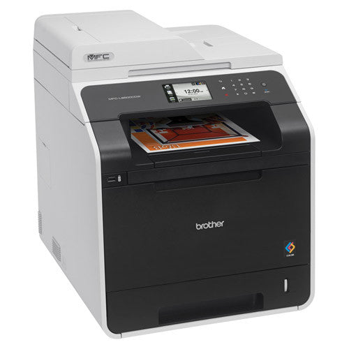 Brother MFC-L8600CDW Color Laser All in one Printer Copier Office Scanner - Precision Toner