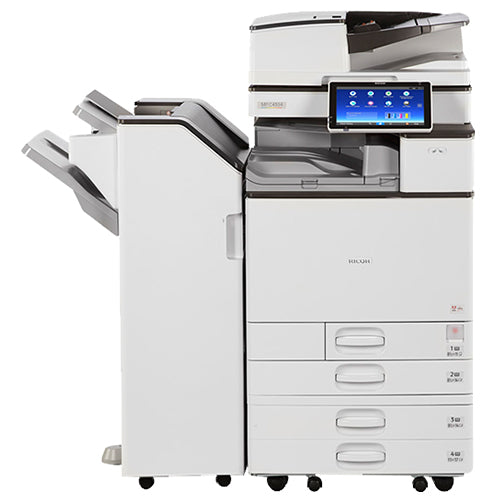 $125/month REPOSSESSED Ricoh MP C4504 Colour Printer Copier Scanner 11x17 12x18 - Precision Toner