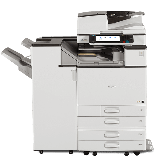 $168/month - Ricoh Copier 55PPM Colour Printing - Full Service Only 1.5 cent b/w 7.5 cent/color Multifunction Printer Copier Mid - High Volume - Precision Toner