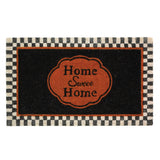 """Home Sweet Home"" Entry Way Coil Mat"