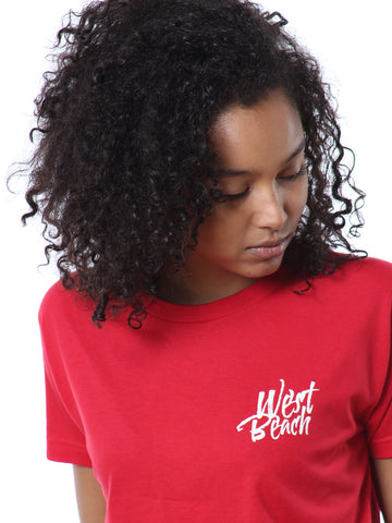Hero Short Sleeve Tee - Regal Red