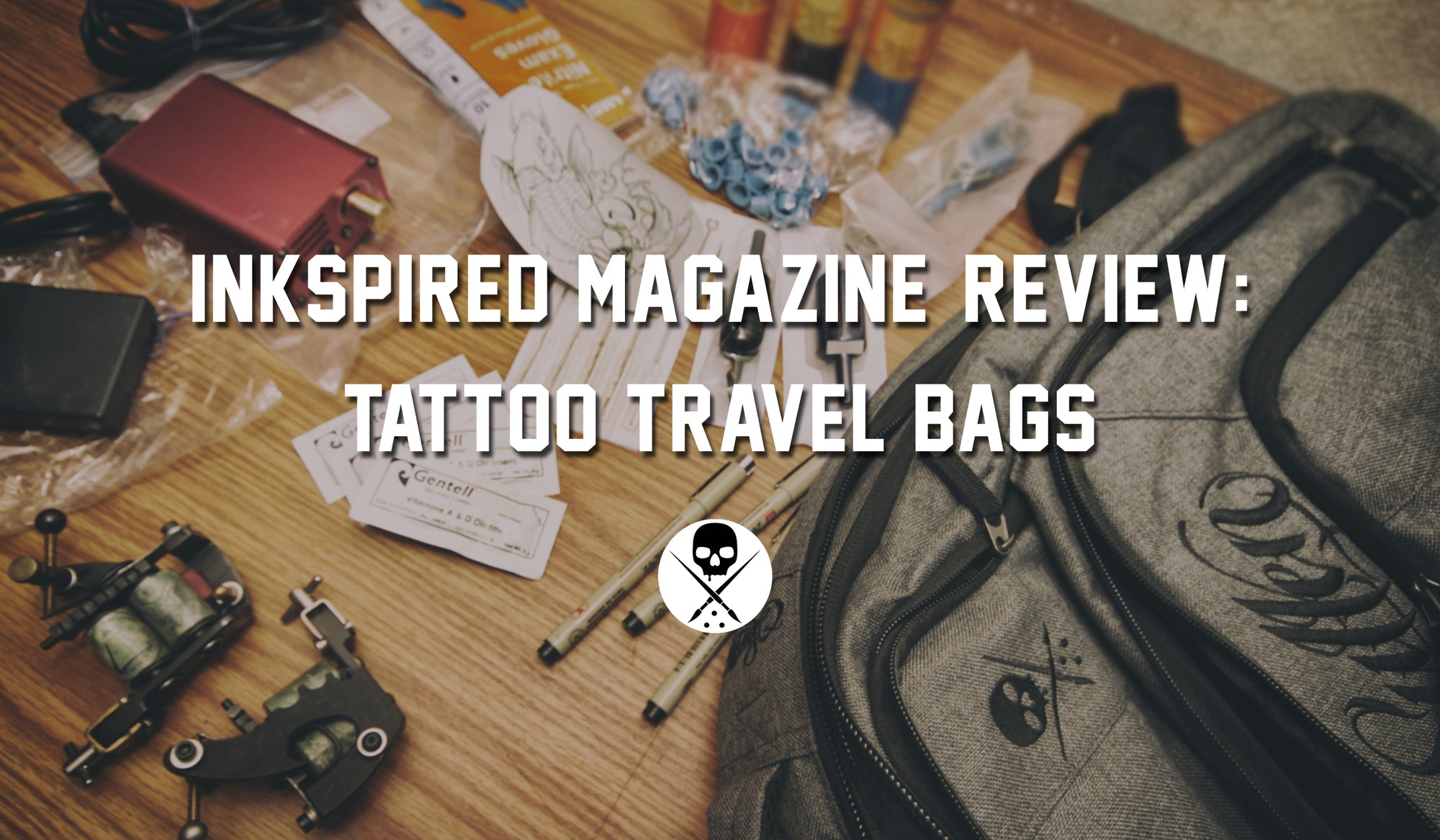 InkSpired Magazine Reviews Sullen Blaq Paq Travel Bags