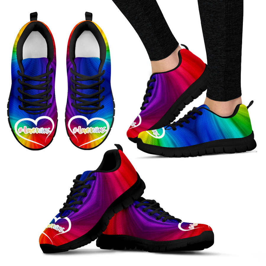 Love Wins v1 Handcrafted Sneakers