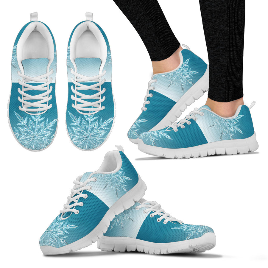 Icy Flakes Women's Sneakers