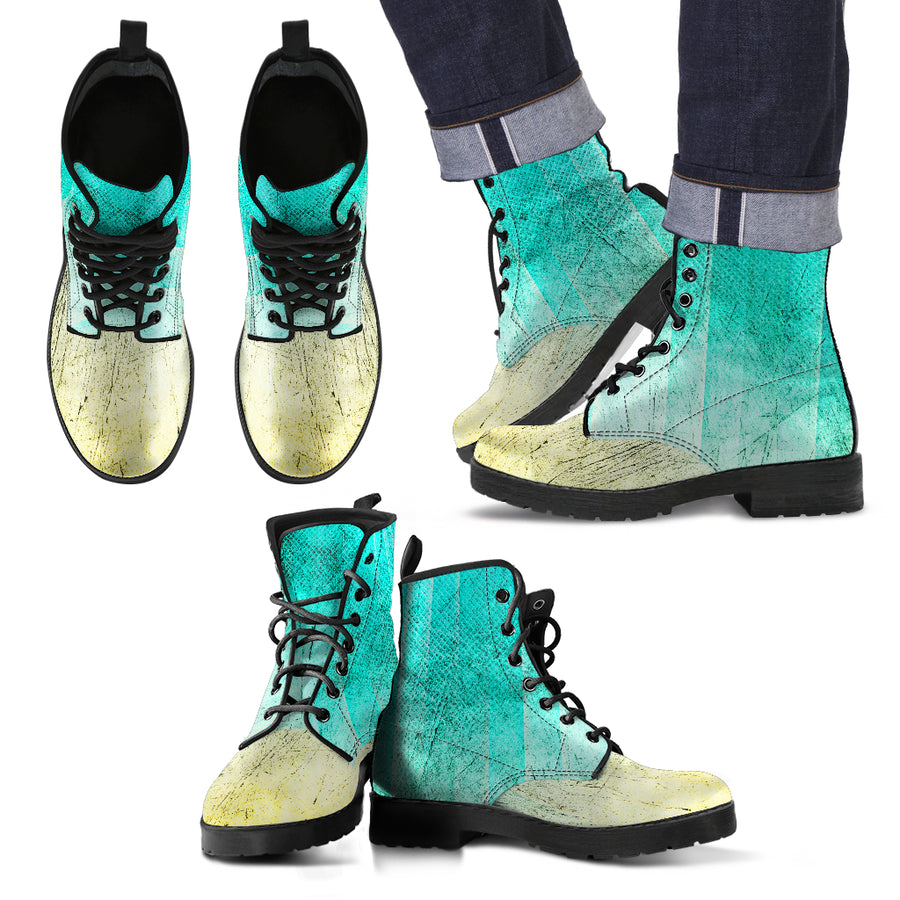 Grunge- Leather Boots for Men