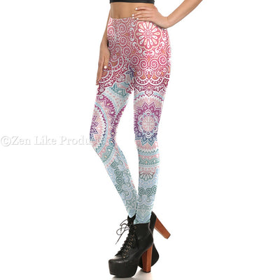 Mandala Flower 3D Leggings