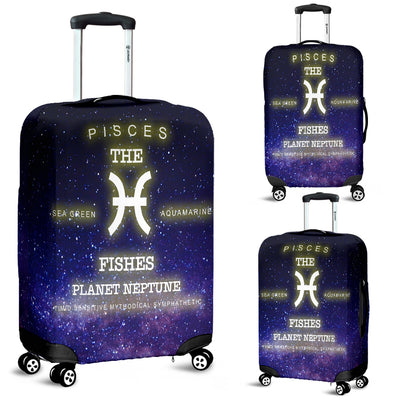 NP Zodiac Pisces Luggage Cover