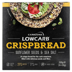 Low Carb® Crispbread - Sunflower & Sea salt
