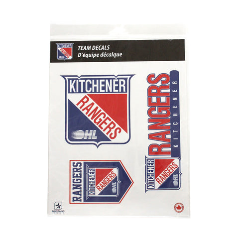 KR Team Decals - Rangers Authentics