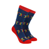 Calcetines Royal Flush origami varios colores
