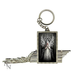 Spirit Earth 3d Only Love Remains Keyring