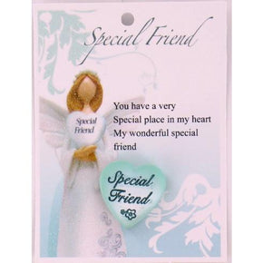Spirit Earth Small Heart - Special Friend
