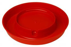 Plastic Screw-On Poultry Waterer Base- 1 Gallon
