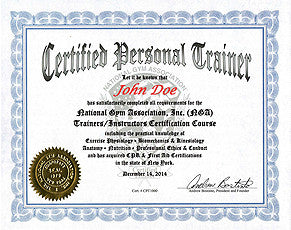 28.  NGA CERTIFIED PERSONAL TRAINER COURSE - Manual Format