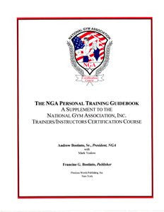 43.  NGA PERSONAL TRAINING GUIDE SUPPLEMENT - Booklet Format