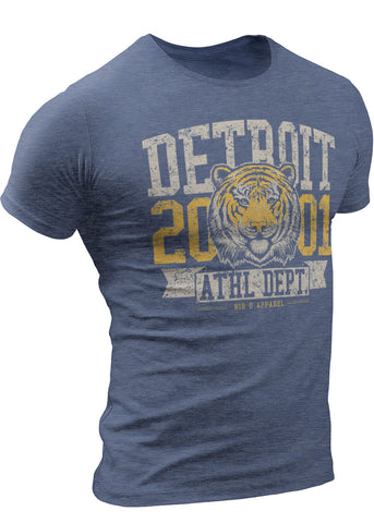 Detroit Tiger T-Shirt 2001  Athletic Department by DETROIT★REBELS Brand