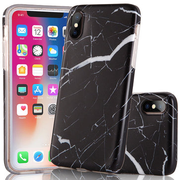 Black Marble Case(iPhone X)