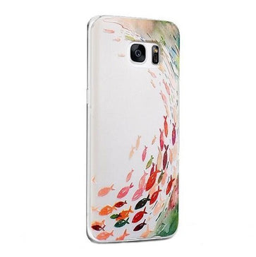 Fishes - Stereoscopic Relief Art 3D Case (Samsung S7)