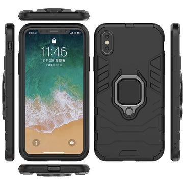 Armor Hybrid Magnetic Kickstand Case (iPhone X)