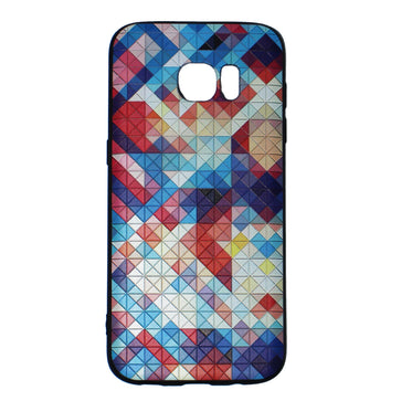 Chequer - Stereoscopic Relief Art 3D Case (Samsung S7)