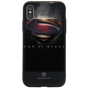 Superman Tempered Glass Case (iPhone X)