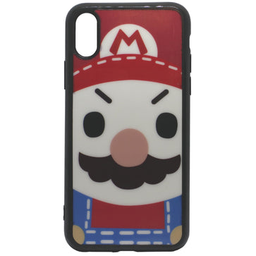 Super Mario Tempered Glass Case (iPhone X)
