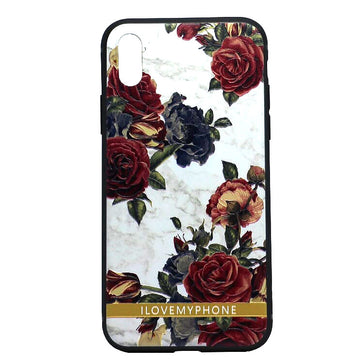3D Rose Floral Case (iPhone X)