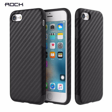 Rock Fiber Case With Metal Plate (iPhone 7 plus)