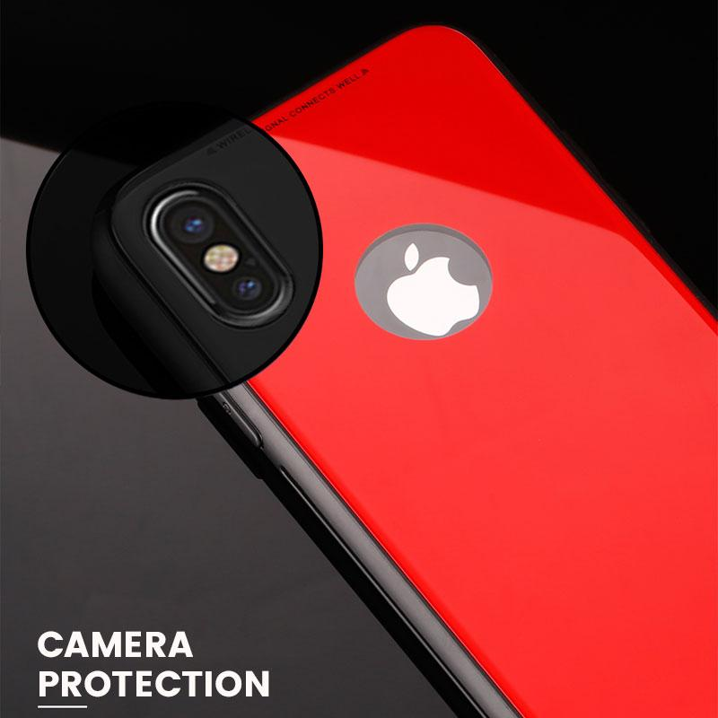 Azure Tempered Glass Case (iPhone X)