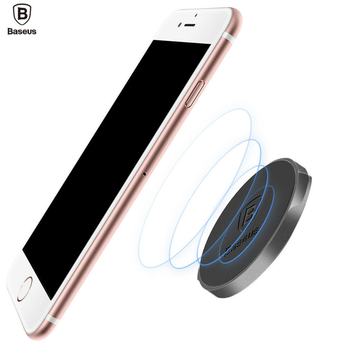 Flat Type Magnetic Suction Phone Mount