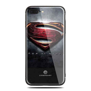 Superman Tempered Glass Case (iPhone 7 Plus)