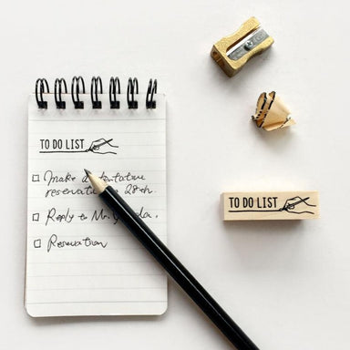 Rubber Stamp - To Do List