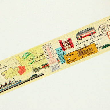 mt Washi Tape - Travel MTEX1P83