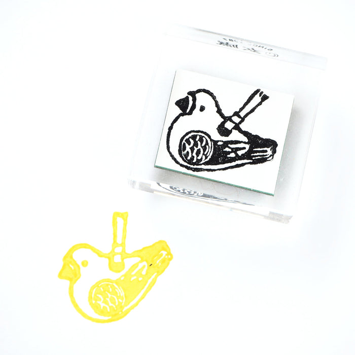 GENRO Rubber Stamp - Pigeon Flute