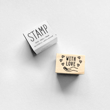 Rubber Stamp - With Love
