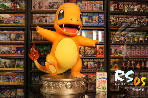 [PO] Pokemon - Zero Tribe - RS05 1:1 Scale Charmander Resin Statue