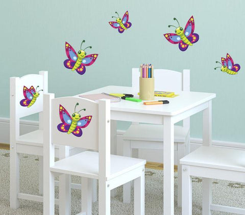 Cute Butterfly Wall Decals - Create-A-Mural