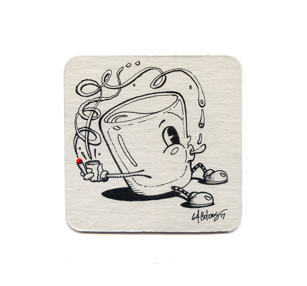 64 Colors - Shot Puff 03 Coaster