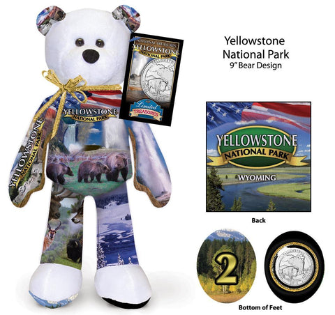 Yellowstone Wyoming National Park Coin bear