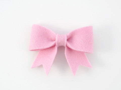 100% Wool Felt Sailor Bow Hair Clip (WSCB)