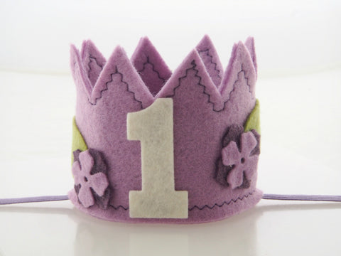 Wool Blend Felt Birthday Crown (CRWN)