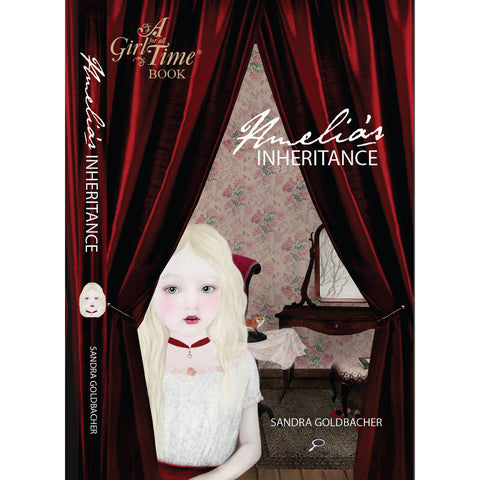 A Girl for All Time Book - Amelia's Inheritance by Sandra Goldbacher
