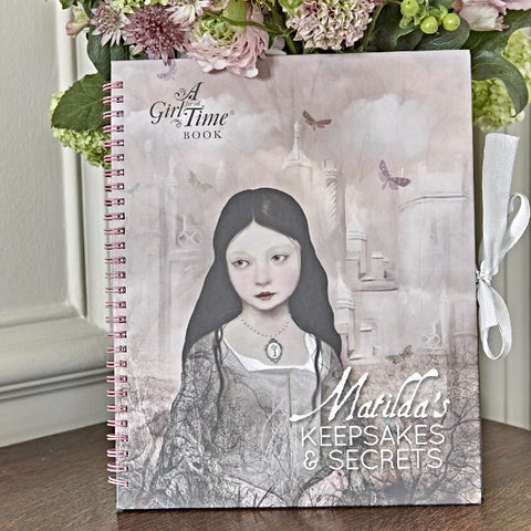 A Girl for All Time - Matilda's Keepsakes and Secrets Book by P.S. Salmi